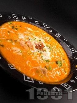 Тайландска патешка супа - снимка на рецептата